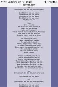 Uptown funk bruno lyrics music x3cb x3elyrics x3c b x3e on pinterest