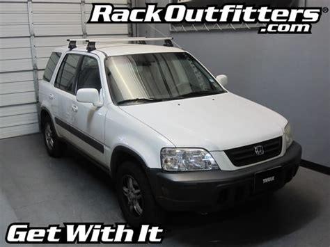 2001 Honda Crv Roof Rack by Rack Outfitters Honda Cr V Thule Rapid Traverse Silver Aeroblade Base Roof Rack 99 01