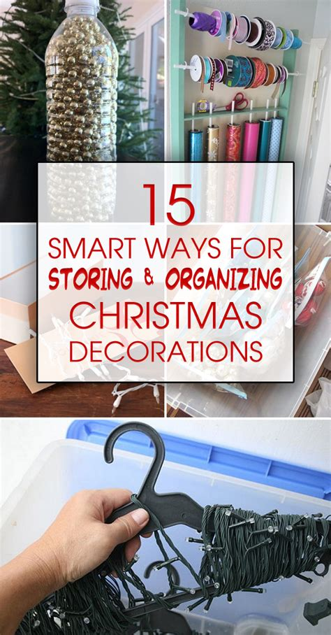 15 smart ways for storing organizing christmas decorations