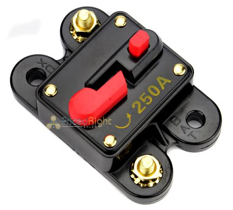 new 12 volt 250 car audio circuit breaker stereo in