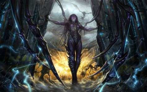 wallpaper hd 1920x1080 blizzard blizzard blizzard entertainment game kerrigan starcra