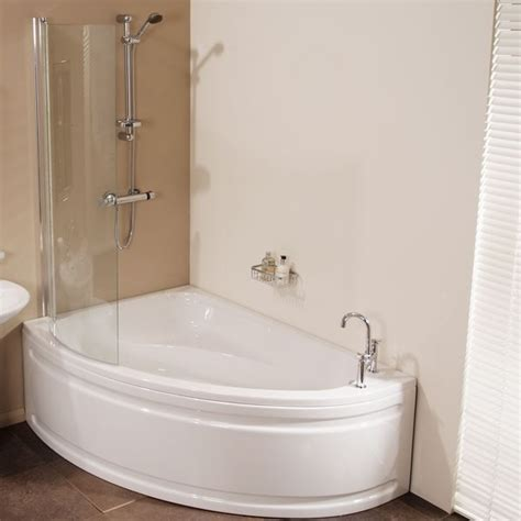 shower bath vienna 1500 x 1040 offset left shower bath