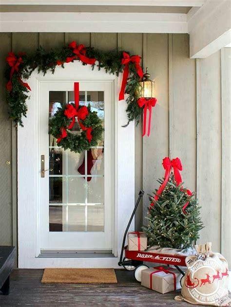 Hiasan Rumah Dekoratif 10 ide dekoratif hiasan natal di pintu rumah terbaik