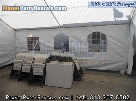 20ft x 20ft canopy rental packages prices and rates