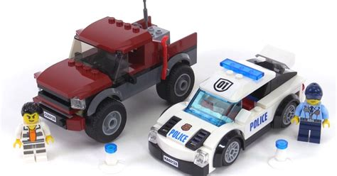 battle bounce police chase cars review lego city 2016 pursuit review set 60128