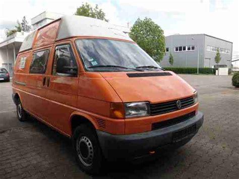 T4 Hochdach Lackieren by Volkswagen T4 Transporter Hochdach 107 Tkm Neue