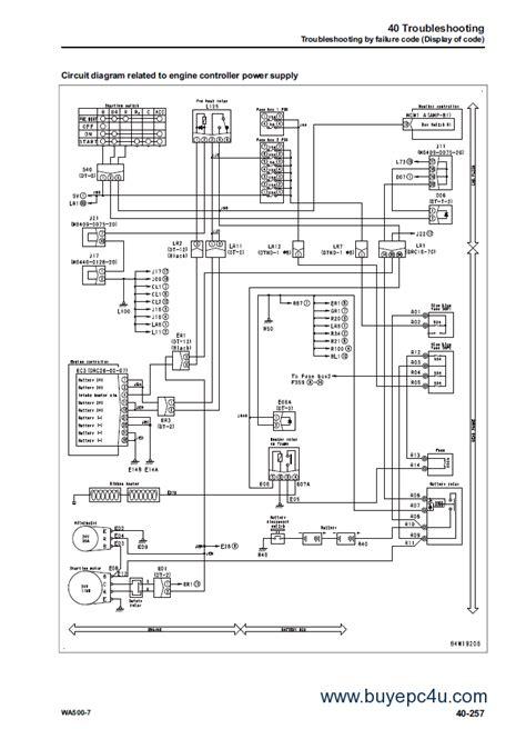 komatsu pc 150 wiring diagram wiring diagram manual