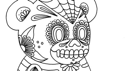 anatomy coloring book skull yucca flats n m wenchkin s coloring pages sugar skull