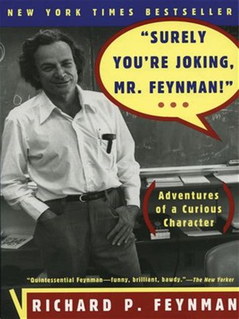 surely you re joking books richard p feynman 183 overdrive ebooks audiobooks and