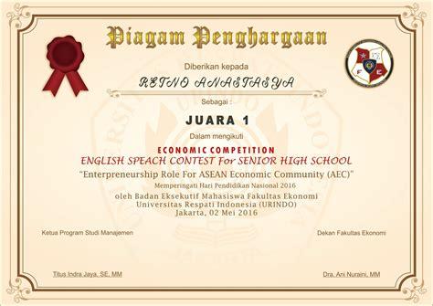 desain sertifikat cdr aplikasi pembuatan piagam penghargaan juara kelas gratis