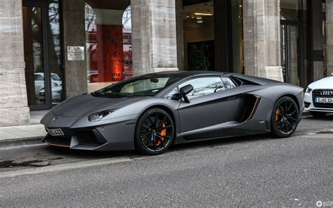 lamborghini aventador lp700 4 roadster dark silver lamborghini aventador lp700 4 roadster 17 march 2017 autogespot