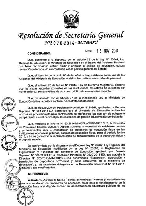 normas de contratacion docente 2016 minedu norma tecnica de contratacion docente 2015 autos post