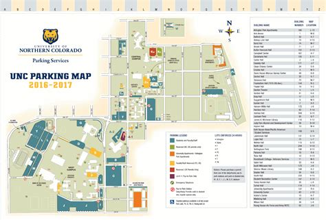 unc map cus map of northern colorado visitor s guide