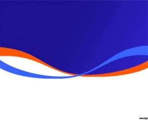 Blue And Orange Powerpoint Template plantilla powerpoint con fondo en degrade azul