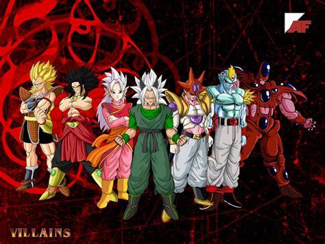 ilustraciones realistas de villanos de dragon ball 8 bit otaku dragon ball af fusiones de los villanos buscar con google drag 243 n ball los