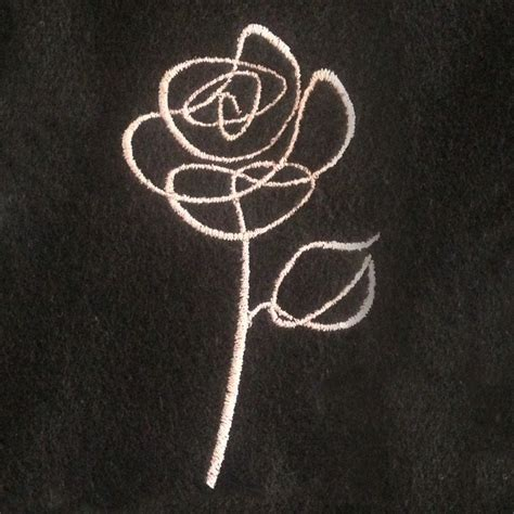 embroidery tattoo designs abstract sketch outline machine embroidery design in