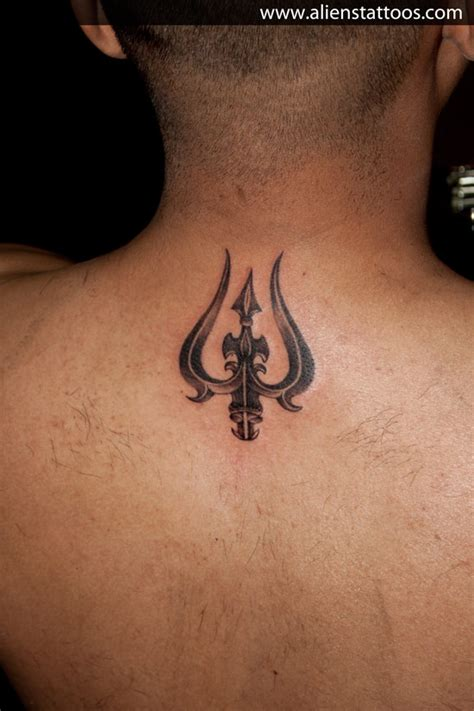 tattoo designs of trishul trishul designed and inked by at aliens
