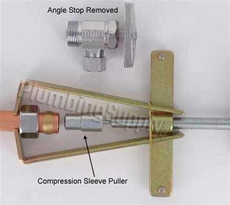 angle stop removal tool plumbing tools for all pipe faucets and plumbing work