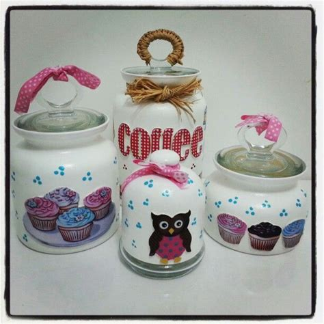 cupcake canisters for kitchen cupcake jars cupcake kitchen decor
