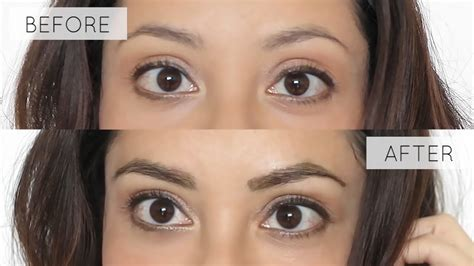 Color My Brows 56599 Eye Brow how to tint your eyebrows at home tutorial lynsire