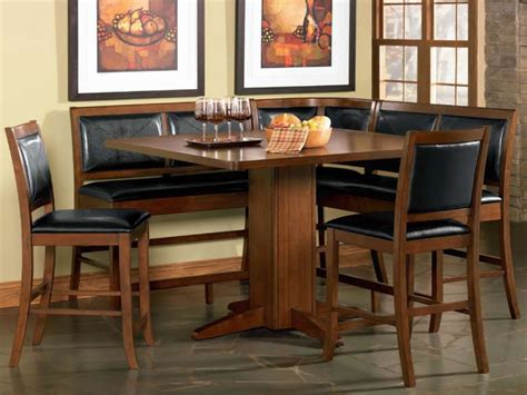 nook dining room set round kitchen tables and chairs sets breakfast corner