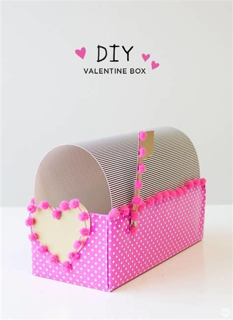 diy valentines box diy box think make