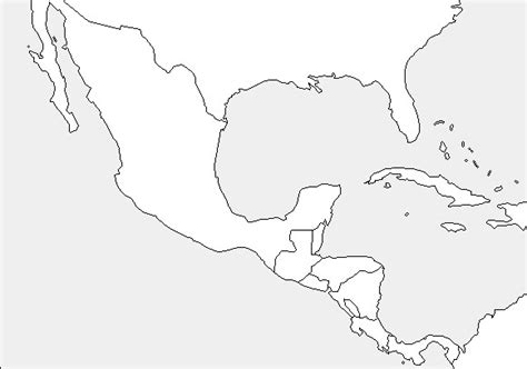 printable maps central america best photos of blank map central america blank central