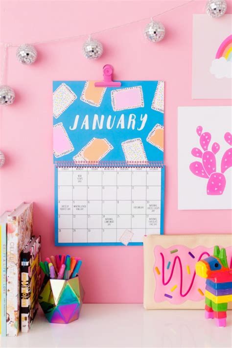 free printable 2017 wall calendar studio diy 2018 free printable wall calendar studio diy