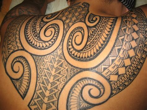 fijian tribal tattoo designs back by fiji maori tattoos