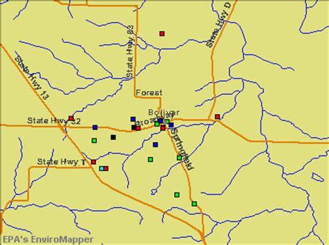 missouri map bolivar bolivar missouri mo 65613 profile population maps