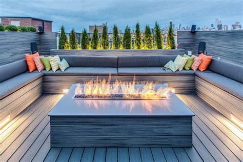 u shaped bench seating 45 backyard deck ideas beautiful pictures of designs