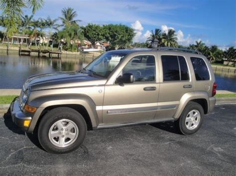 Jeep Liberty 06 Find Used 06 Jeep Liberty Limited 4x4 Diesel 1 Owner