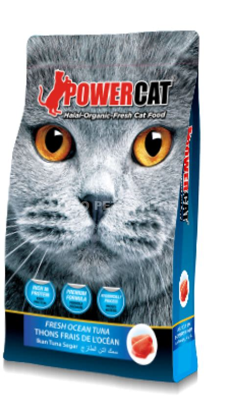 Harga Powercat powercat fresh tuna 1 4kg indo pet centre