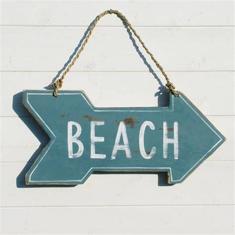 Bathroom Storage Ideas Uk by Wooden Beach Sign Reversible Coastalhome Co Uk