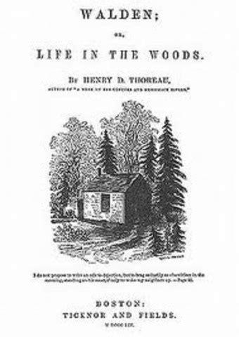 the book walden began history unit 4 timeline timetoast timelines
