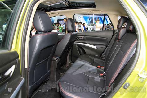 Suzuki Sx4 Seats Suzuki Sx4 S Cross 1 4 T Boosterjet Rear Seats At The