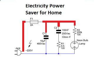 power saver device circuit diagram electricity power saver circuit diagram for your home