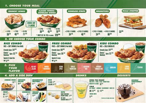 Harga Makanan by Wingstop Menu Www Pixshark Images Galleries With A