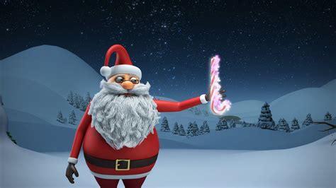 animated christmas card template santa xmas magic youtube