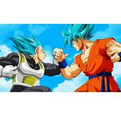 Vegeta Vs Goku Super Saiyan Blue DBS Wallpaper 5501