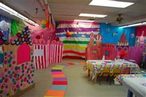 Candyland Classroom Decorations by Candyland Decorations On Land