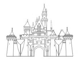 disney templates castle printables disneyland castles
