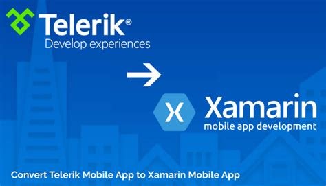 convert to mobile convert telerik mobile app to xamarin mobile app