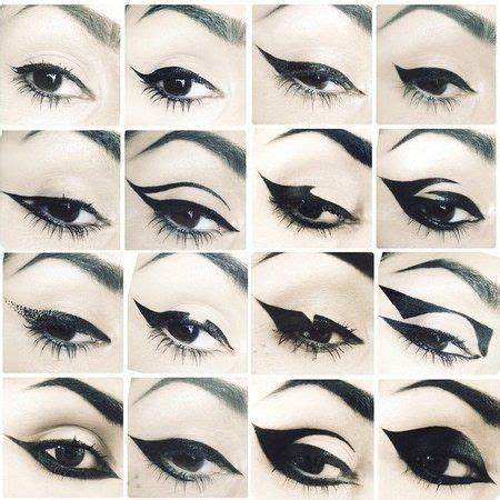 kat von d tattoo eyeliner 16 different eye liner styles katvond eyeliner looks