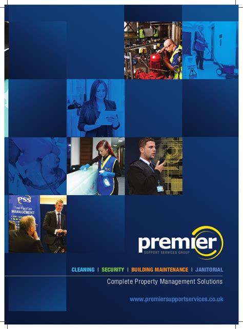 services brochure premier services brochure