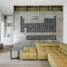think quot quot with quote quot quot periodic table elements vinyl wall