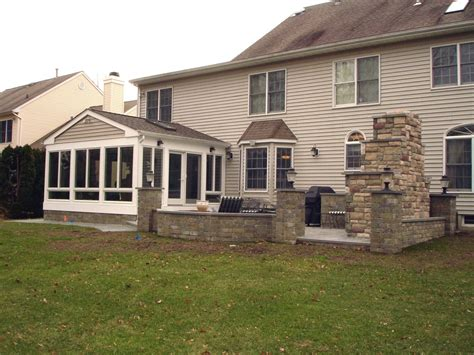 Sunroom And Patio Designs sunroom and patio design in monmouth county