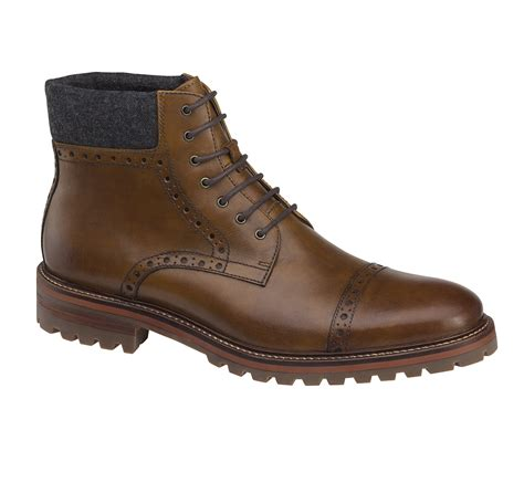 johnston and murphy mens boots karnes cap toe boot johnston murphy