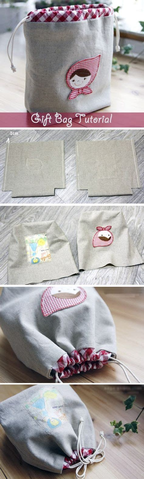 pattern to make gift bags drawstring bag tutorial gift bags idea drawstring pouch