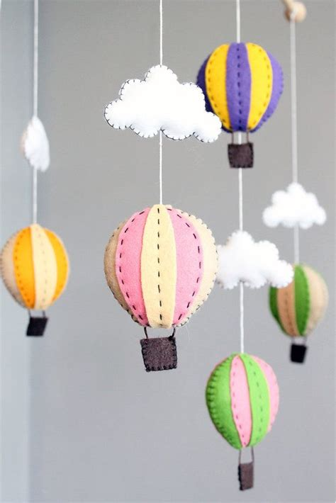 How To Make Your Own Crib Mobile by Baby Mobile Pattern How To Make Your Own Air Balloon